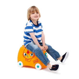 Чемодан Trunki Katsuma Moshi Monsters. Монстрик Катсума. Made in GB