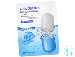 Маска тканевая BoniBelle Aqua Collagen Daily Solution Mask с коллагеном