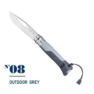 Нож Opinel №08 Outdoor Grey