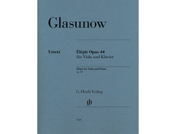Alexander Glazunov ?l?gie op. 44 for Viola and Piano