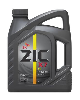 Масло моторное ZIC X7 10W-40 4л 162620