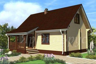 дом из бруса - проект № 14