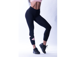 Леггинсы ASYMETRICAL 7/8 LEGGINGS 639  Черные