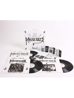 POSSESSED Demo-nic 3LP + 3 TAPE BOX SET