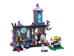 Мегаблокс Монстр Хай Кафе Крипатерий С Френки и Клео / Mega Bloks Monster High Creepateria Building Set