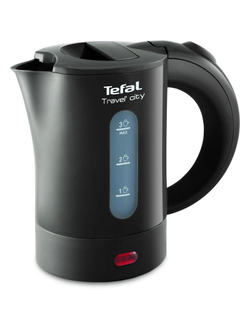 Чайник Tefal KO 120 Travel?City, 0.5 л, 650 Вт, пластик (KO120B30)