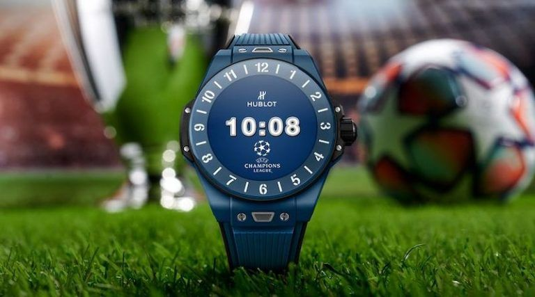 Big Bang E UEFA Champions League - новые умные часы Hublot