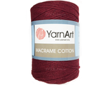 Macrame cotton 778 марсала