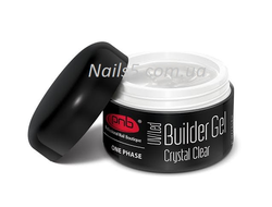 PNB UV/LED One Phase Builder Gel Сrystal Clear, 50 мл