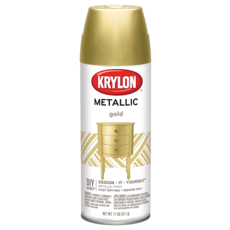 Krylon Brilliant Metallic Gold