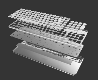 Клавиатура Xiaomi MIIIW Bluetooth Dual Mode Keyboard