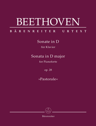 "Beethoven Sonata for Piano D major op. 28 ""Pastorale"""