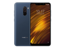 Смартфон Xiaomi POCOPHONE F1 6/128GB Blue Синий EU GLOBAL VERSION Snapdragon 845