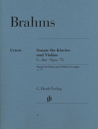 Brahms Violin Sonata G major op. 78