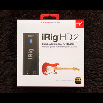 iRig HD2 интерфейс для подключения электрогитары и бас гитары к iPhone/iPad/Mac/PC