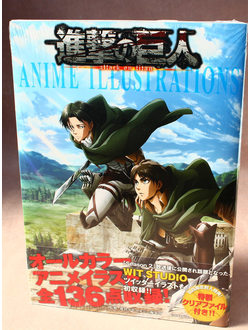 Оригинальный Арт Бук ATTACK ON TITAN Season 1, 2 (АТАКА ТИТАНОВ 1 и 2 сезон)