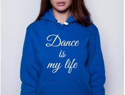 Толстовка Dance is my life