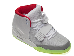 Nike Air Yeezy 2 Grey-Red
