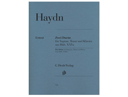 Haydn Two Duets for Soprano, Tenor and Piano Hob. XXVa:1 and 2