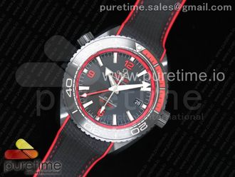 Planet Ocean Red/Black GMT