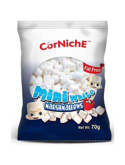Мини-маршмеллоу Corniche Mini White Marshmallows 70 гр.