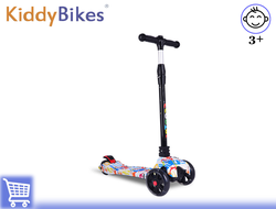 САМОКАТ SCOOTER COLOR (БЕЛЫЙ) Kiddy-bikes