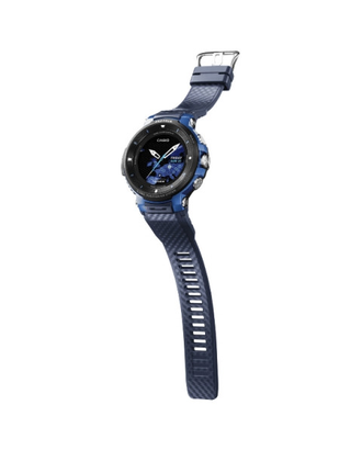 Купить Casio Pro-Trek Smart WSD-F30-BU на умном гаджете