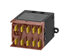 3TK2040-7AG0 Miniature contactor Flat connector terminal, 4 NO screw mounting (diagonal) AC operation 36 V AC 50 Hz/42 V AC 60 Hz