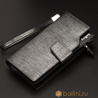 Мужской клатч Baellerry Business New Silver