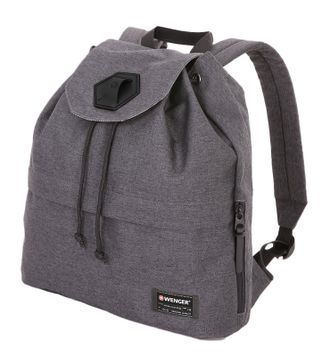 Рюкзак WENGER 13'', 5332424403, cерый, ткань Grey Heather/ полиэстер 600D PU, 33х13х39см, 16л