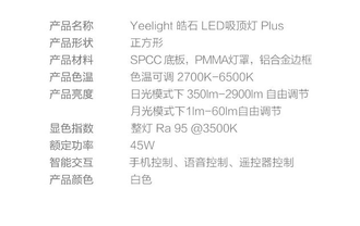 Светодиодный светильник Xiaomi Yeelight LED Ceiling Lamp Plus Star Trail (YLXD21YL) 50 см