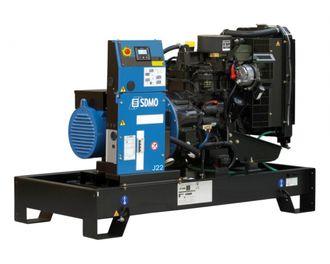 Установка sdmo j33 ДЭС 24 кВт в контейнерном исполнении