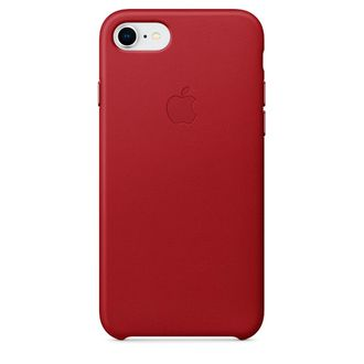 Чехол для iPhone Apple iPhone 7/8 Leather (PRODUCT)RED (MQHA2ZM/A)