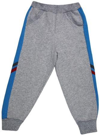 Штаны спортивные (Артикул 4113-042), серый меланж