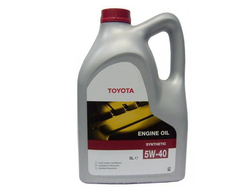 Моторное масло Toyota Engine Oil 5W-40 5л
