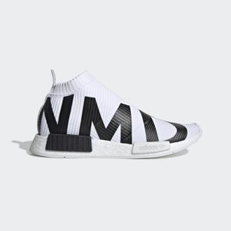 Adidas NMD CS1 PK White/Black бело-черные