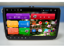 "Автомагнитола MegaZvuk AD-9017 Volkswagen на Android 6.0.1 Quad-Core (4 ядра) 9"" Full Touch"