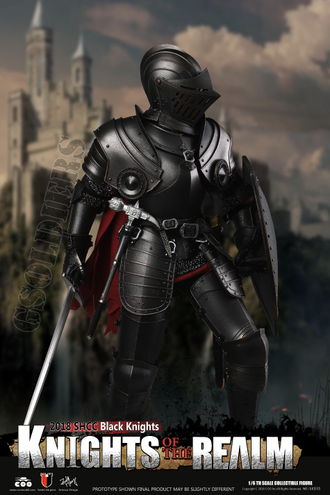 ФИГУРКА 1/6 scale IE-CAST ALLOY SERIES OF EMPIRES KNIGHTS OF THE REALM BLACK KNIGHT (SE035) COOMODEL