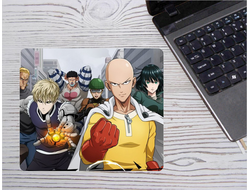 Коврик Ванпанчмен, One Punch Man для мыши №17