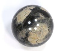 Шар Яшма серебряная, ЮАР (40 мм, 96 г) №20830