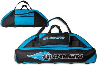сумка AVALON CLASSIC 106 CM WITH 2 POCKETS BLACK/TURQUOISE