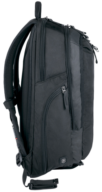 Рюкзак VICTORINOX Altmont™ 3.0, 32388201, Vertical-Zip Laptop Backpack 17'', чёрный, нейлон Versatek™, 33x18x49см, 29л