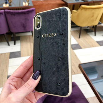 Чехол Guess для iPhone Xs Max KAIA collection Black, оригинал
