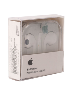 ВАКУУМНЫЕ НАУШНИКИ EARPODS WITH REMOTE AND MIC