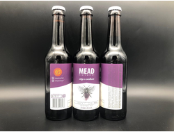 Blackberry Mead Mead - Melomel Мед Ежевикой 7% IBU 0 0.33л (180) Steppe & Wind в бутылке