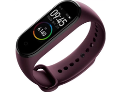 Браслет Xiaomi Mi Band 4 Wine Red (XMSH07HM) Русский язык