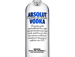 "Водка ""Absolut Vodka"""
