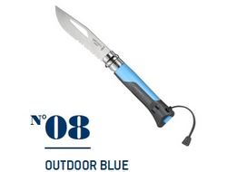 Нож Opinel №08 Outdoor Blue