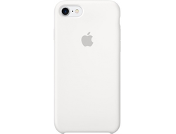 iPhone 7 Silicone Case White - белый силикон