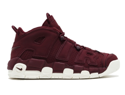 Nike Air More Uptempo 96 Бордовые с белым